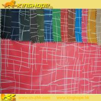 hot sale waterproof 100% Polyester Printed Fabric Manufactures