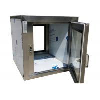 Pharmaceutical Clean Room Pass Box Through 110V / 60HZ , Softwall Cleanrooms Manufactures