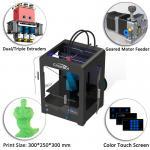 Plastic Creatbot DX 3d Printer , Large Format 3d Printer 0.05 Mm Max Resolution Manufactures