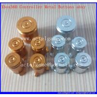 Xbox360 Controller Metal Buttons abxy logo repair parts Manufactures