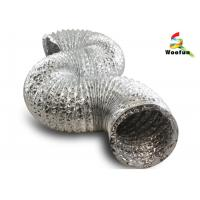 Quality Hydroponics ventilation single or double layer aluminum foils/ polyester for sale