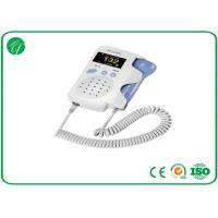 China Baby Sound Handheld Fetal Doppler , Baby Heart Doppler For Routine Examination on sale