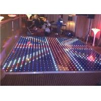 China Dance Floor Led Stage Display Interactive / Hd P8 Led Screens For Concerts on sale