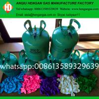 China Industrial disposable balloon helium tank for sale on sale