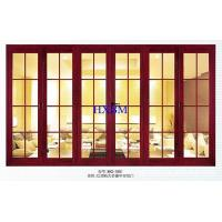Timber Look Aluminium Doors With Wooden Finish With 6063 -T5 Aluminum Profile Manufactures