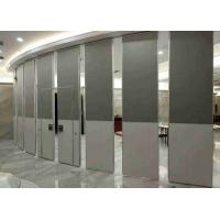 Fireproof Sliding Wall Panels , Hotel Banquet Office Partition Wall Board Finish Manufactures
