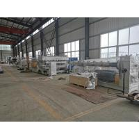Advanced Plastic Sheet Extrusion Line For PC Hollow Sheet / Sun Sheet Production Manufactures