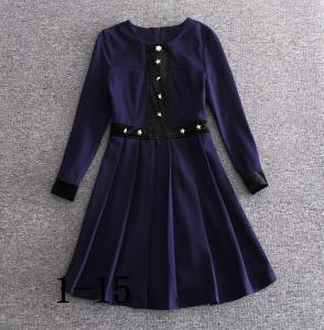 2018 burberry fashionable dress quality women dresses bulk order printing dress