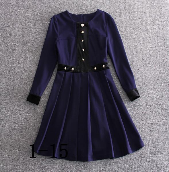 Quality 2018 burberry fashionable dress quality women dresses bulk order printing dress for sale