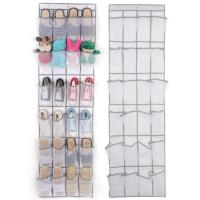 Wall Door Hanging Magazine Holder Hanging Shoe Storage Linen Non Woven Fabric Manufactures