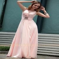 new design homecoming dress pink color 2013 Manufactures