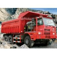 Heavy Duty Mining Dump Truck / Ten Ton Dump Truck With 14.00-25 Tyres Manufactures