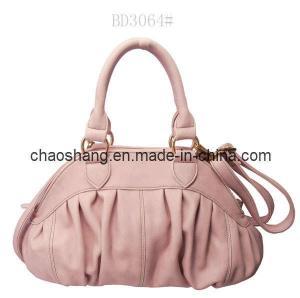 Ladies Pink Fashion Handbag Manufactures
