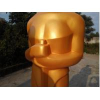 89th Oscar Academy Award  most memorable statues  for sale with golden fiberglass as hotel mall decoration Manufactures