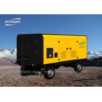 Quality Quiet Single Screw Air Compressor Portable 13 Bar Gas Powered 179kw for sale