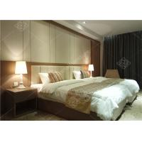 Double Bed Furniture / Complete Hotel Room Furniture Twin Size Manufactures
