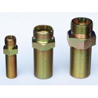 Cylinder straight bulkhead hydraulic adapter fitting Manufactures