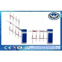 Access Road Car Park Barriers , Vehicle Barrier Gates With Led Signal Lights Manufactures
