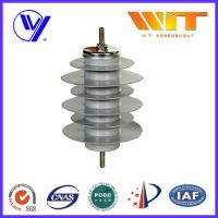 15KV Polymer Metal Oxide Gapless Surge Arrester Gray Color with KEMA Manufactures
