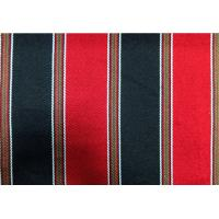 China 270GSM Sadu Black And Red Striped Fabric For Arabic Floor Sofa on sale