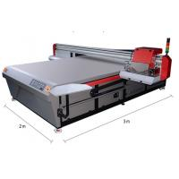 China Fast Speed Printing Flatbed Uv Digital Printer Double LED UV Lamps With Water Cooling on sale