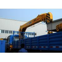 Durable 8 Ton Lifting Capacity Truck Loader Crane With Telescopic Boom Manufactures