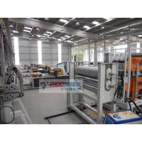 350 - 650kg/h Plastic Roof Tile Making Machine For PVC Roof Sheet Manufactures