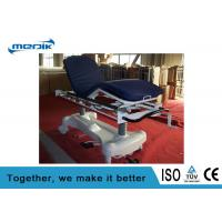 Buy cheap Hydraulic Fluoroscopy Transport Trolley With Adjustable Backrest For ICU Room from wholesalers