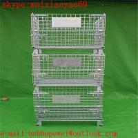 China storage pallet  cage/security cage /metal storage cage/steel storage cabinets/steel sheds  from HENG YOU factory for sale