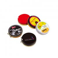 Round Metal Storage Containers Shoe Polish Tin With Different Versions Manufactures