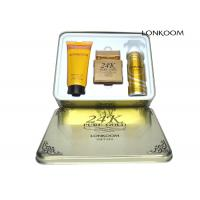 Lonkoom 24k Pure Gold Perfume Gift Sets With GMPC / ISO22716 / MSDS Manufactures