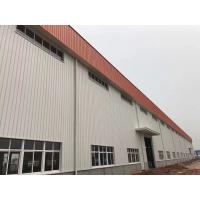 Prefabricated Structure Metal Frame Buildings / Durable Pre Fab Workshop Manufactures