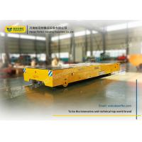 Raw Material Battery Transfer Cart Bogie , Warehouse Automated Guided Carts Explosion Proof Manufactures