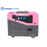 5kw Small Portable Generators With 4 Wheels For Home Standby Power 50hz Manufactures