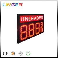 Double Sides Unleaded LED Gas Price Sign With RF Wireless Remote Manufactures