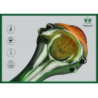 Premium BorosilicateGlass Smoking Tubes Orange Mushroom Shape GP-011 Manufactures