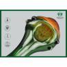 Buy cheap Premium BorosilicateGlass Smoking Tubes Orange Mushroom Shape GP-011 from wholesalers