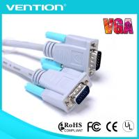 Blue PVC Jacket VGA Monitor Extension Cable with Ferriters Computer VGA Male to Male  D-Sub Manufactures