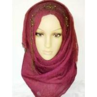 Red Hijab Scarf (LC-C027) Manufactures