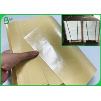 China PE Coating Kraft Paper Roll Packaging Craft Paper Board 200G 300G + 15G Poly Film on sale
