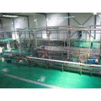 pasteurization and cooling tunnel