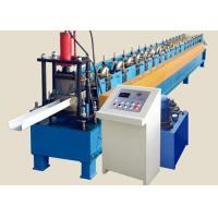 High Speed Round Gutter Machine , PLC control Metal Gutter Bending Machine for sale