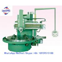 Conventional One Column Vertical Turning Lathe Machine For Metal Cutting Processing Manufactures