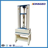 China 10kn Electronic Universal Tensile Strength Test Machine / universal testing machine compression test on sale