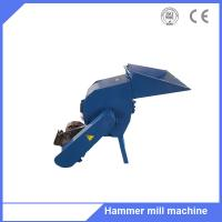 Family use wood waste logs branch crushing hammer mill machine Manufactures