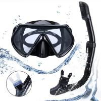 Adults Mask Snorkel Set Diving Snorkeling Freediving Food Grade Lightweight Manufactures