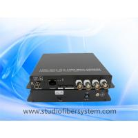 4CH HDTVI media fiber converter for coaxial and ip camera hybrid application Manufactures