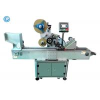 Horizotal Small Semi Automatic Labeling Machine For Paper Tube / Ballpoint  Pen Manufactures
