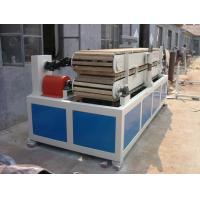 PVC Window Sill Plastic Profile Extrusion Line , WPC Profile Extruder Manufactures