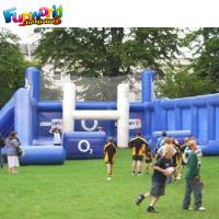 Buy cheap Blue and white for kid n adult inflatable rugby games inflatable rugby post from wholesalers